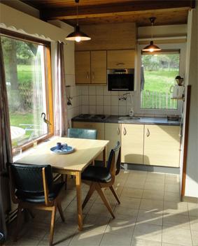 keuken met magnetron